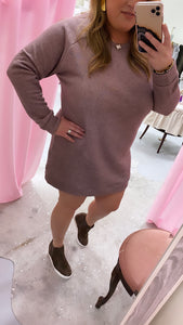 Snuggle Me Up Sweater Dress