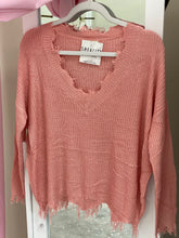 Load image into Gallery viewer, Mauve About You Summer Sweater