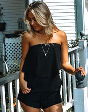 Load image into Gallery viewer, Strapless Black Romper