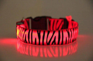 Open image in slideshow, Zebra LED collar