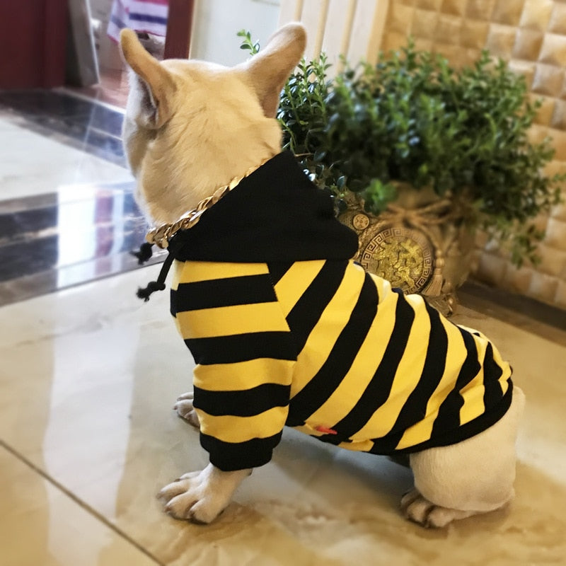 Striped Pet Hoodies