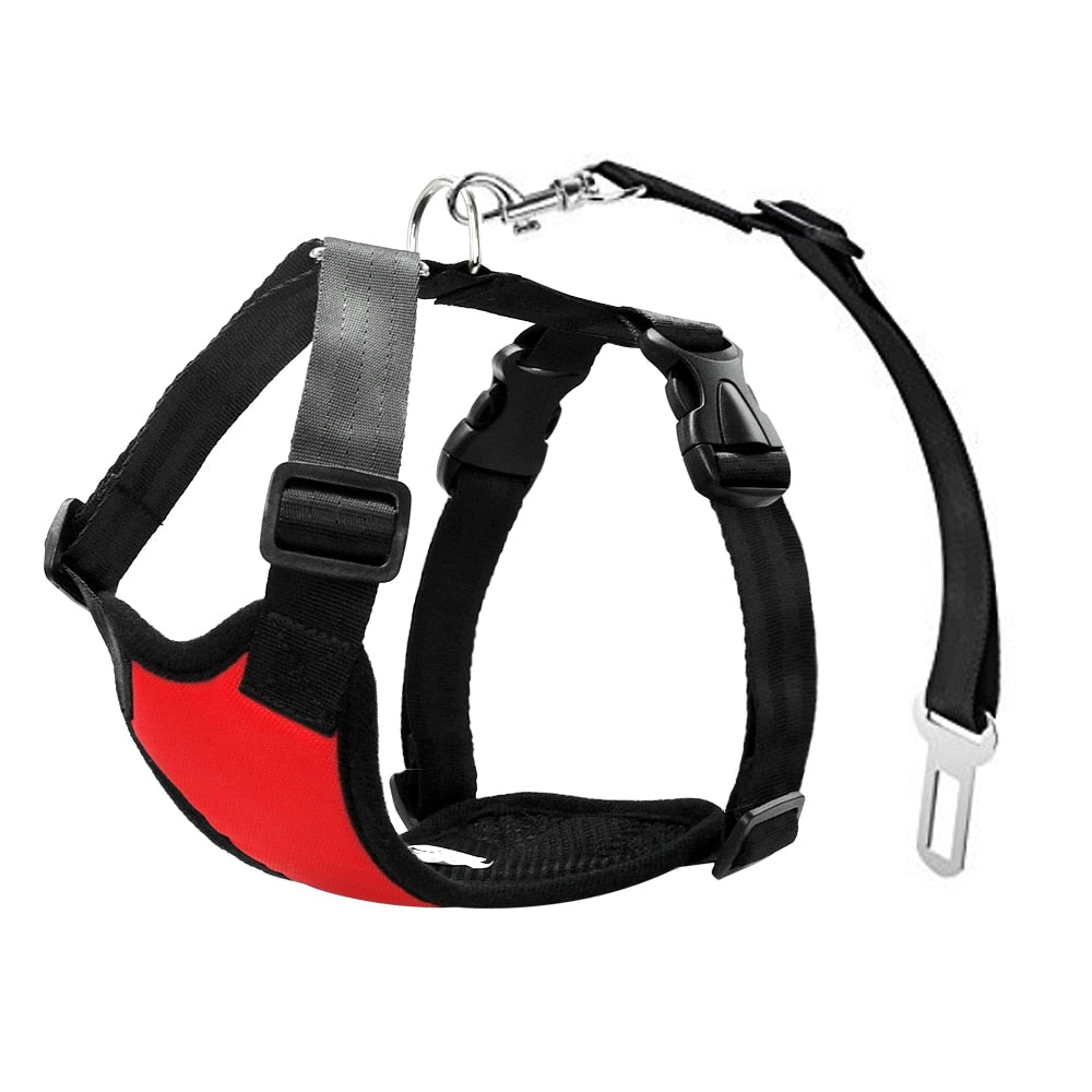 Dog Seatbelt + free harness