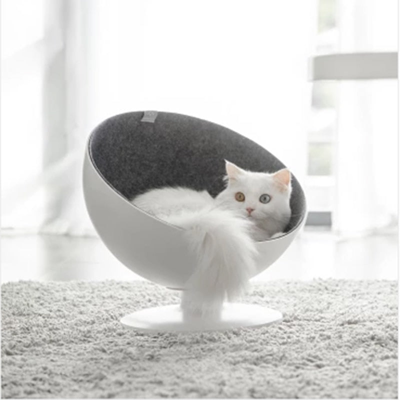 Cat Spinning Nest