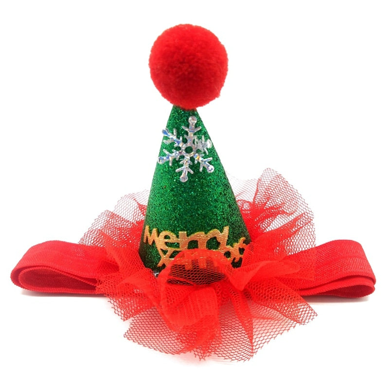 Adjustable Pet Christmas Hat
