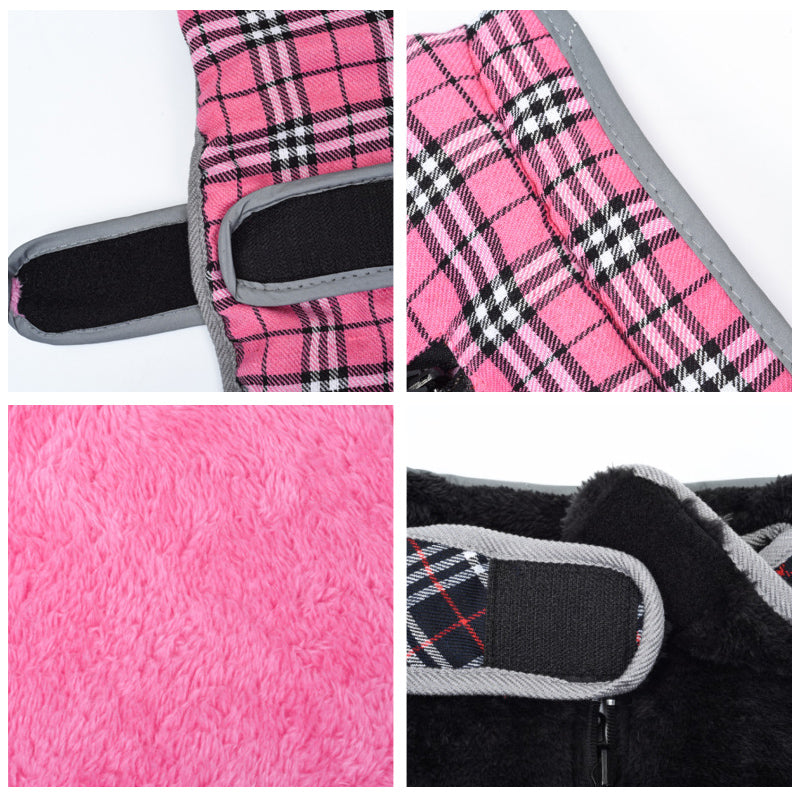 Winter Pet Jacket Vest