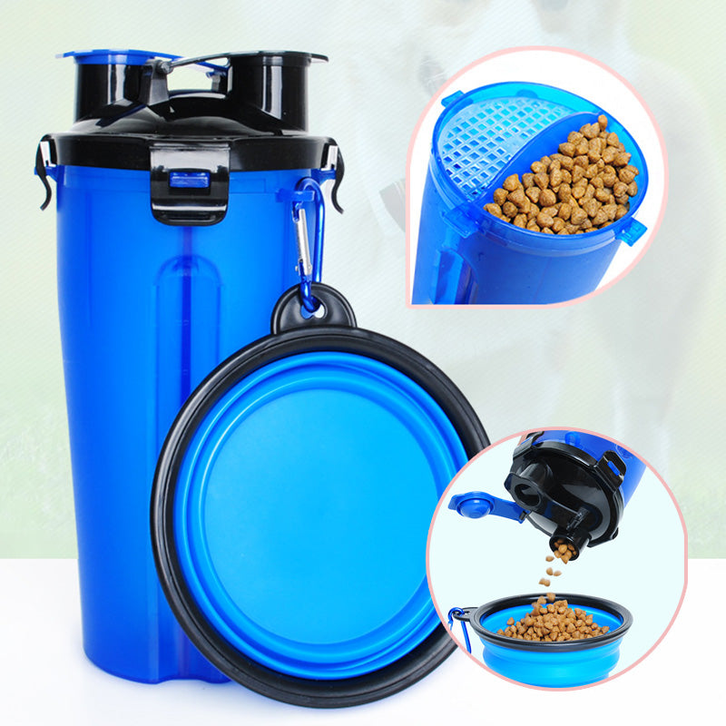 Portable All in 1 Dog Feeder