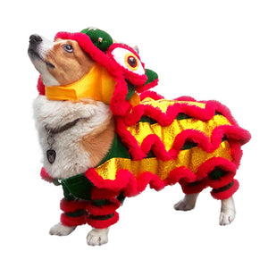 Pet Chinese dragon costume