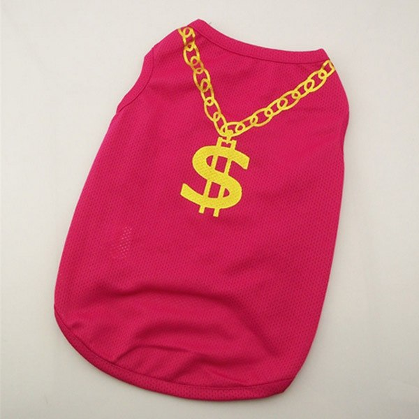 Dollar chain Pet T-shirt