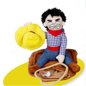 Open image in slideshow, Cowboy pet costume