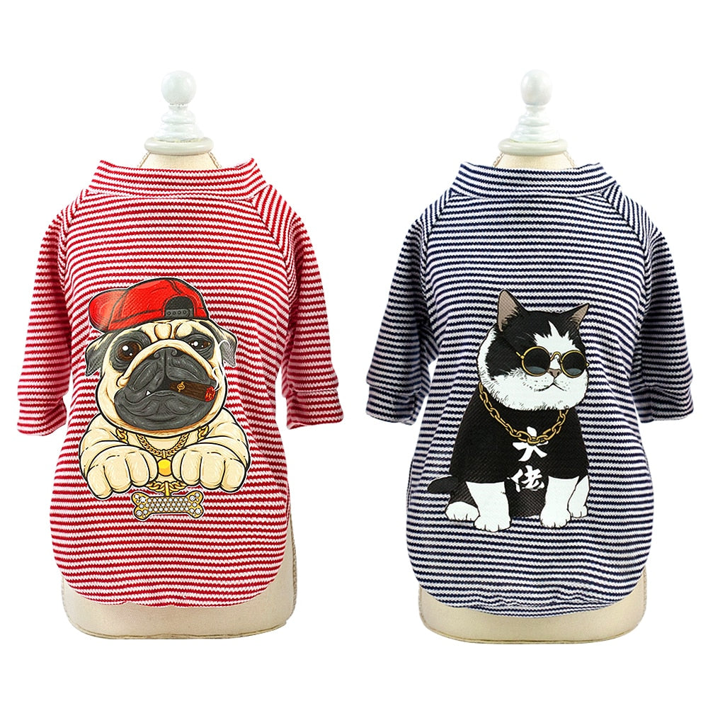Cotton print Pet T-shirt