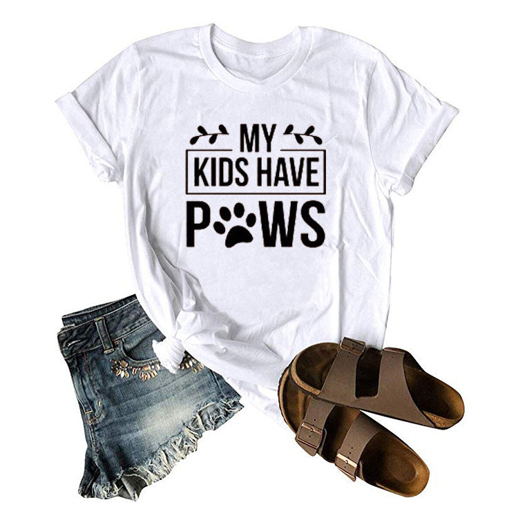 My Kids Have Paws T Shirt