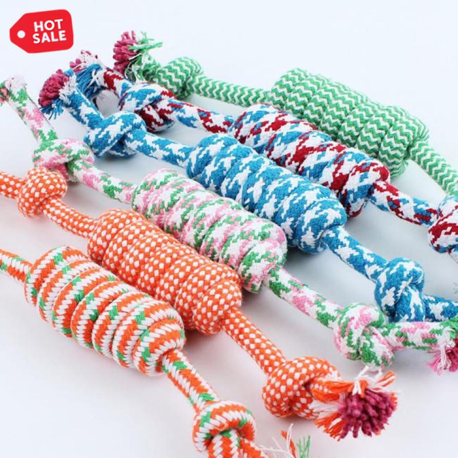 27CM Dog Cotton Rope Toy