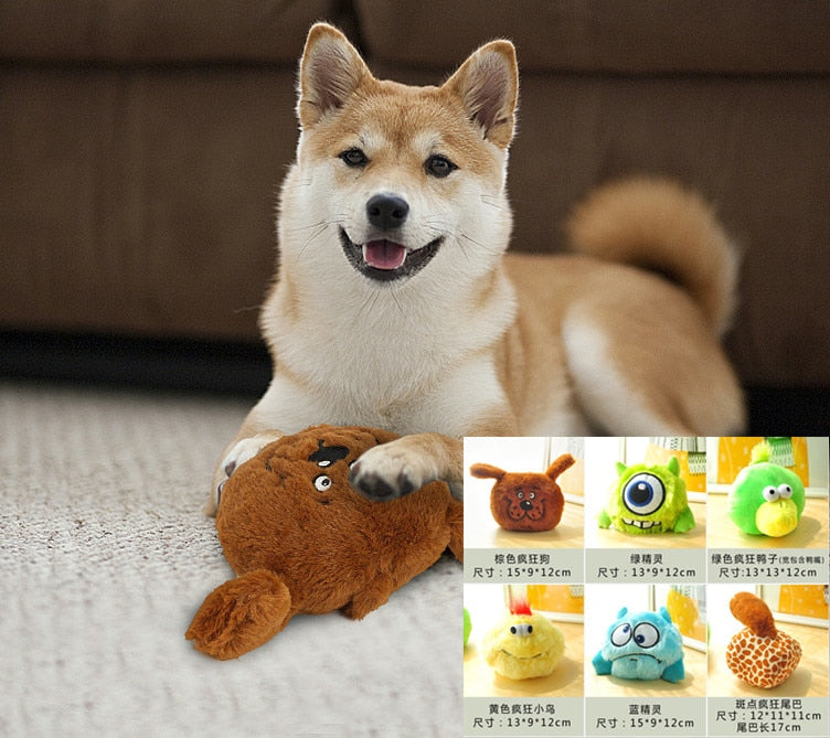 Plush animal toy