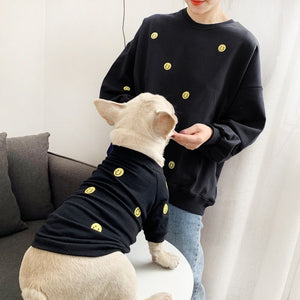 Open image in slideshow, Smiley Face Matching Pet Owner Outfit