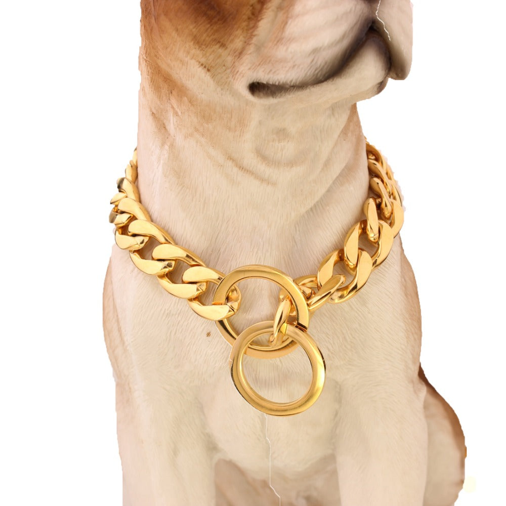 Cuban Link pet chain