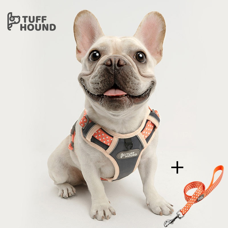 TUFF HOUND Adjustable Leash And Harness Set