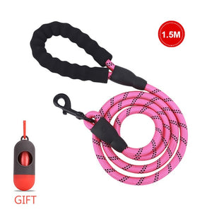 Open image in slideshow, Pet Leash Reflective Strong Dog Leash 1.5M