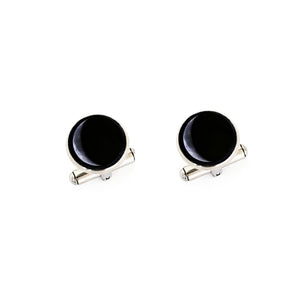 Glowing Moon Phase Cufflinks