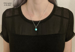 Glowing Moon Phase Necklace