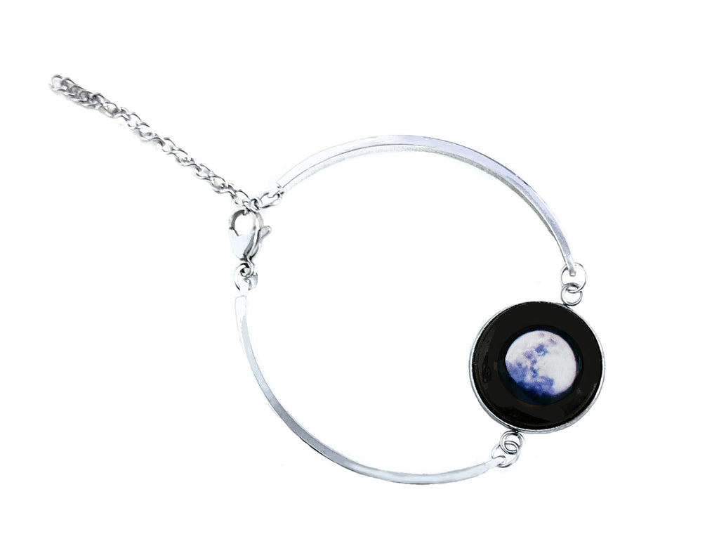Glowing Moon Phase Bracelet