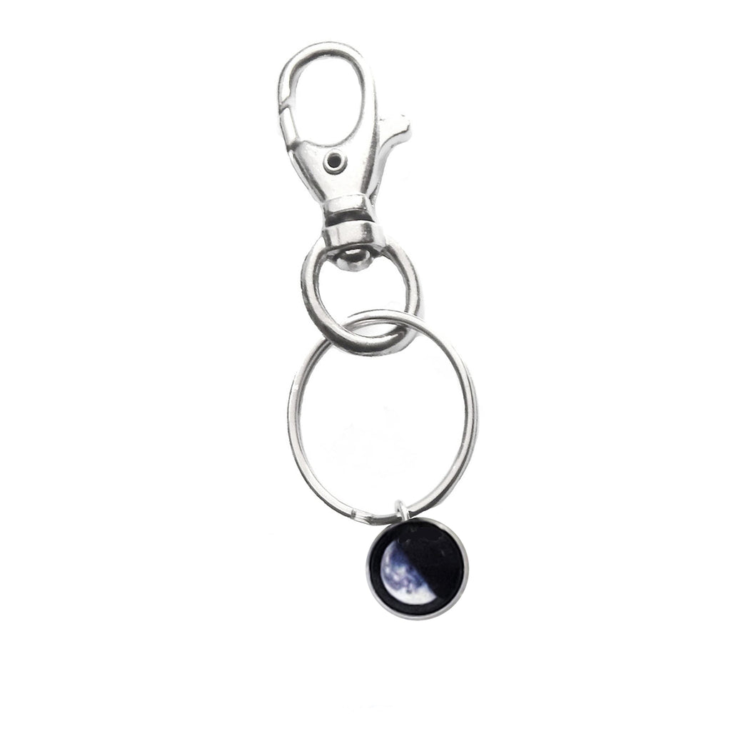 Glowing Moon Phase Keychain