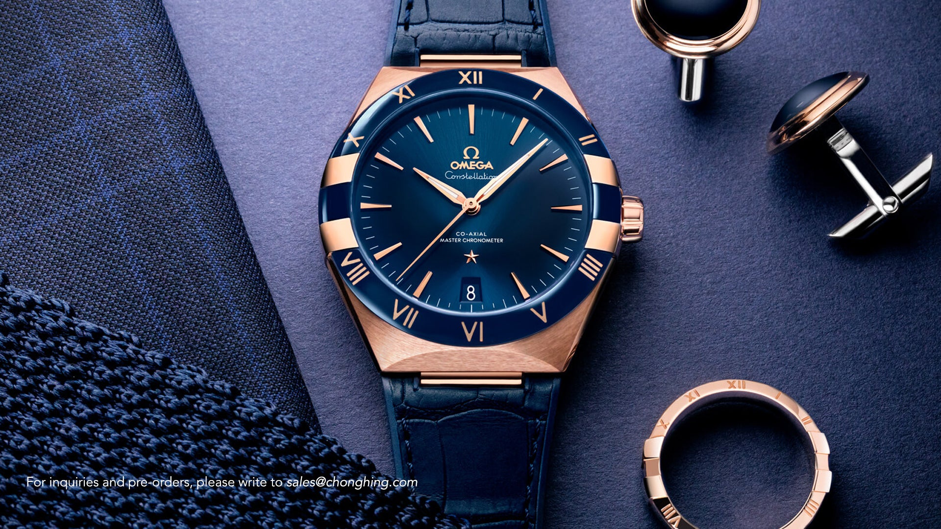 OMEGA THE CONSTELLATION GENTS COLLECTION