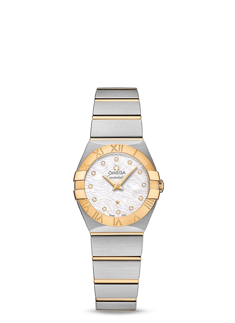 OMEGA CONSTELLATION QUARTZ 24 MM - Steel - Yellow Hold on Steel - Yellow Gold  Omega