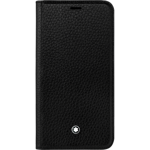 Meisterstück Soft Grain Flip Side Cover with stand-up function for Apple iPhone XR  Montblanc