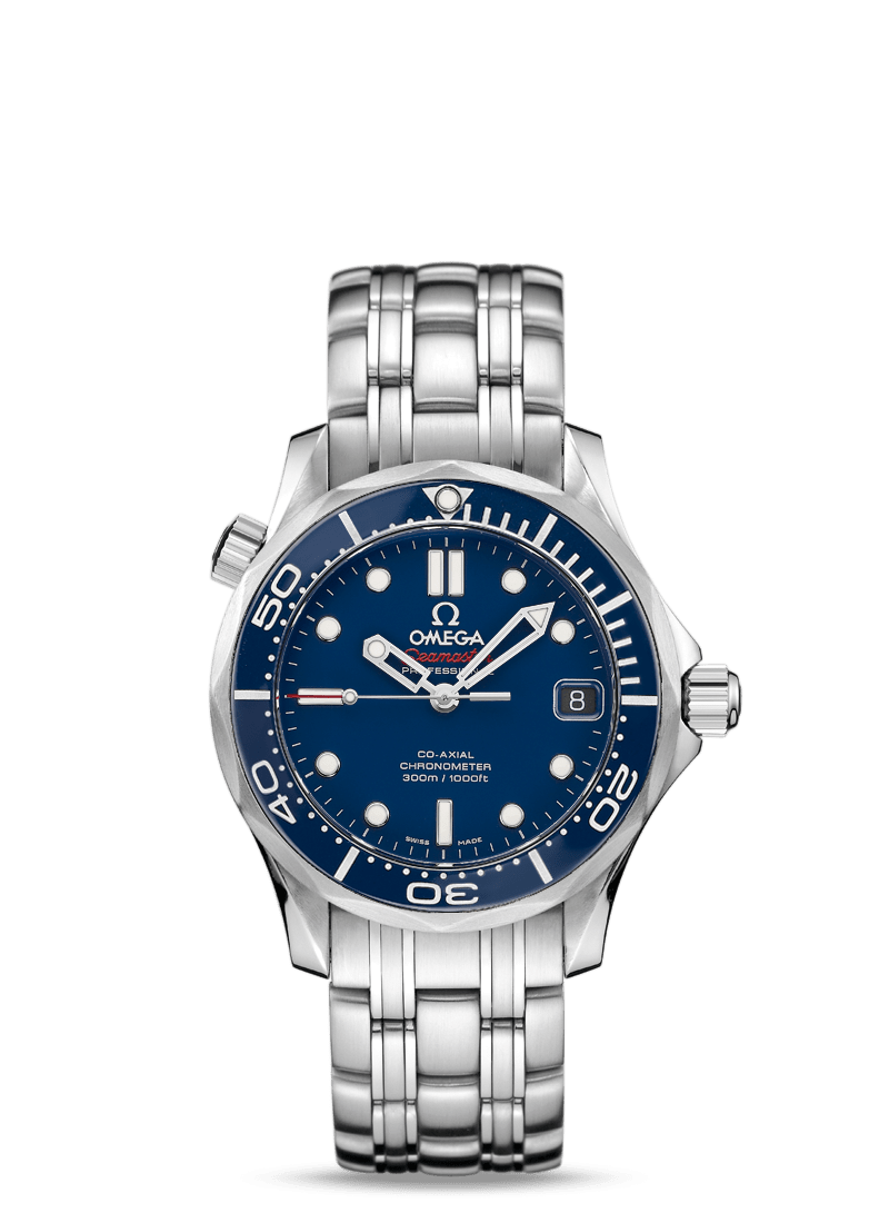 OMEGA SEAMASTER DIVER 300M CO‑AXIAL 36.25 MM - Steel on Steel  Omega