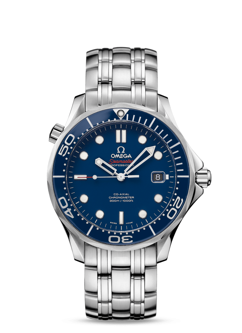OMEGA SEAMASTER DIVER 300M CO‑AXIAL 41 MM - Steel on Steel  Omega