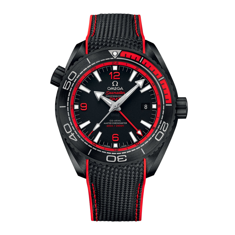 Omega Seamaster Planet Ocean 600M Co-Axial Master Chronometer GMT 45.5mm  Omega