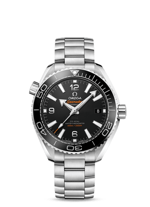 OMEGA SEAMASTER PLANET OCEAN 600M OMEGA CO‑AXIAL MASTER CHRONOMETER 39.5 MM - Steel on Steel  Omega