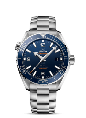 OMEGA SEAMASTER PLANET OCEAN 600M OMEGA CO‑AXIAL MASTER CHRONOMETER 43.5 MM - Steel on Steel  Omega