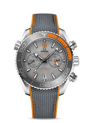 OMEGA SEAMASTER PLANET OCEAN 600M OMEGA CO‑AXIAL MASTER CHRONOMETER CHRONOGRAPH 45.5 MM - Titanium on Rubber Strap  Omega