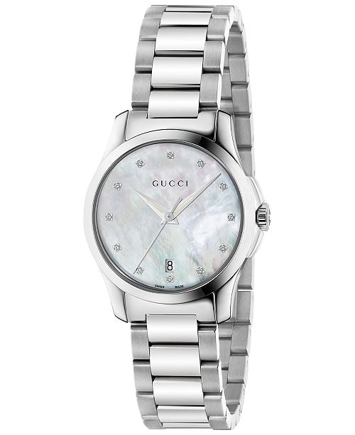 Gucci G Timeless Mother of Pearl - YA126542  Chong Hing Jewelers