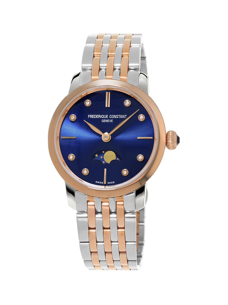 Frederique Constant Slimline Ladies Moonphase  Frederique Constant