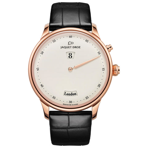 Jaquet Droz The Twelve Cities Ivory Enamel - J010133209  Jaquet Droz