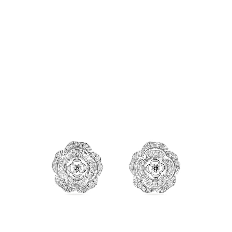Chanel Camélia Earrings - J11179  Chanel