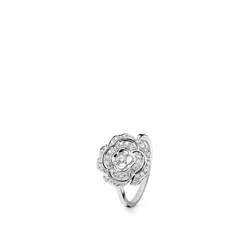 Chanel Camélia Ring - J11188  Chanel