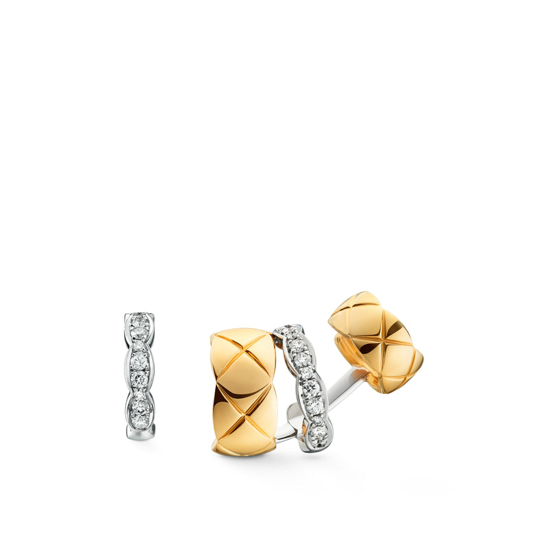 Chanel Coco Crush Earrings - J11191  Chanel