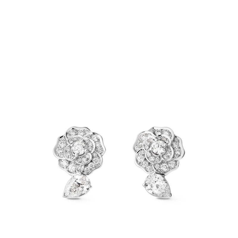 Chanel Camélia Earrings - J11337  Chong Hing Jewelers