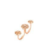 Chanel Extrait de Camélia Transformable Ring - J11859  Chanel