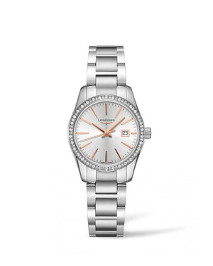 LONGINES Conquest Classic 29.50mm Silver Dial Stainless Steel  Longines