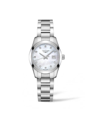 LONGINES Conquest Classic 29.50mm Mother of Pearl Stainless Steel  Longines