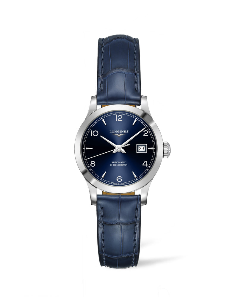 LONGINES Record 30mm Blue Dial Automatic  Longines