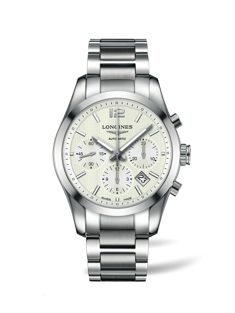 LONGINES Conquest Classic 41mm Chronograph  Longines
