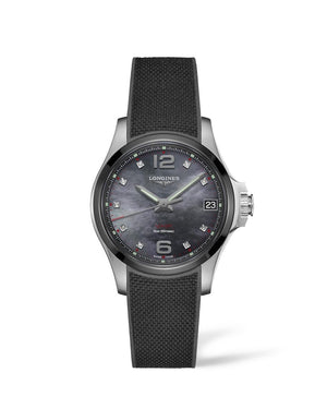 LONGINES Conquest V.H.P. 36mm Stainless Steel/Ceramic  Longines