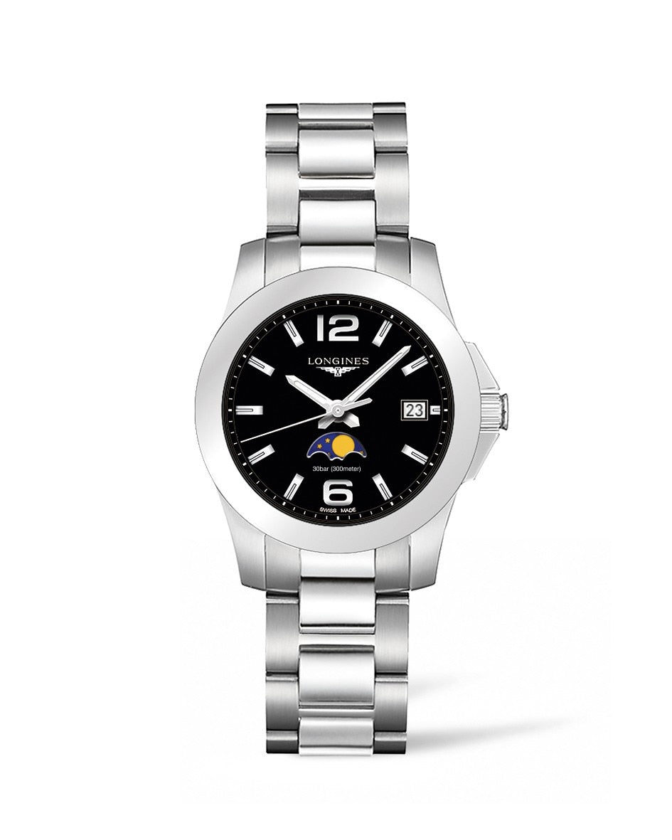 LONGINES Conquest 34mm Stainless Steel  Longines