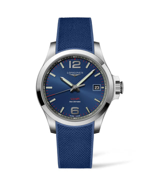 LONGINES Conquest V.H.P. 41mm Blue Dial Stainless Steel  Longines