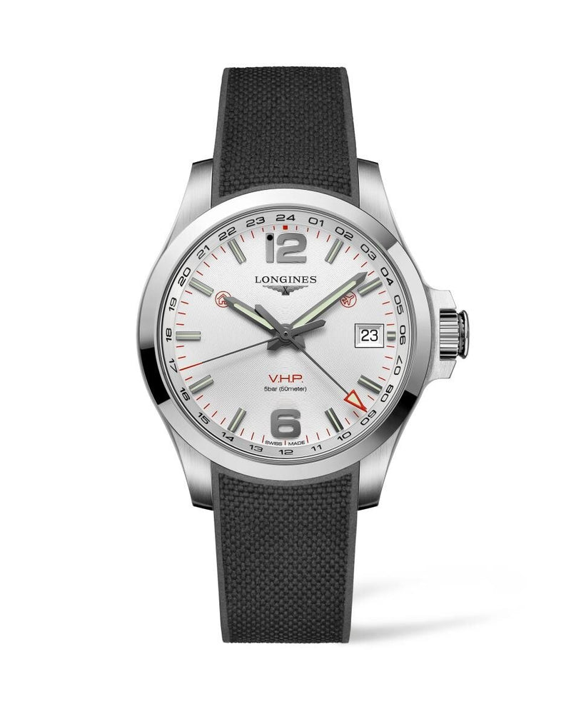 LONGINES Conquest V.H.P. GMT 41mm Stainless Steel  Longines